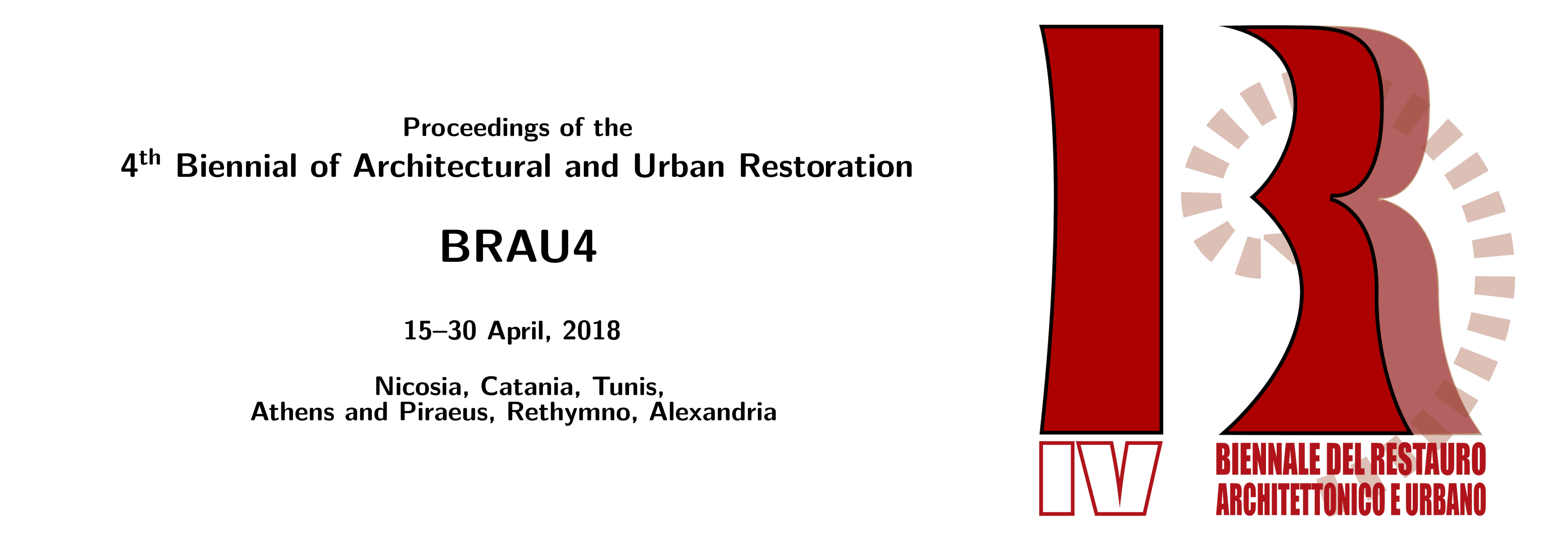 BRAU4 Proceedings header.