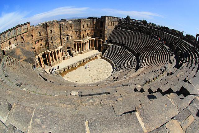 Bosra theatre, Syria.
