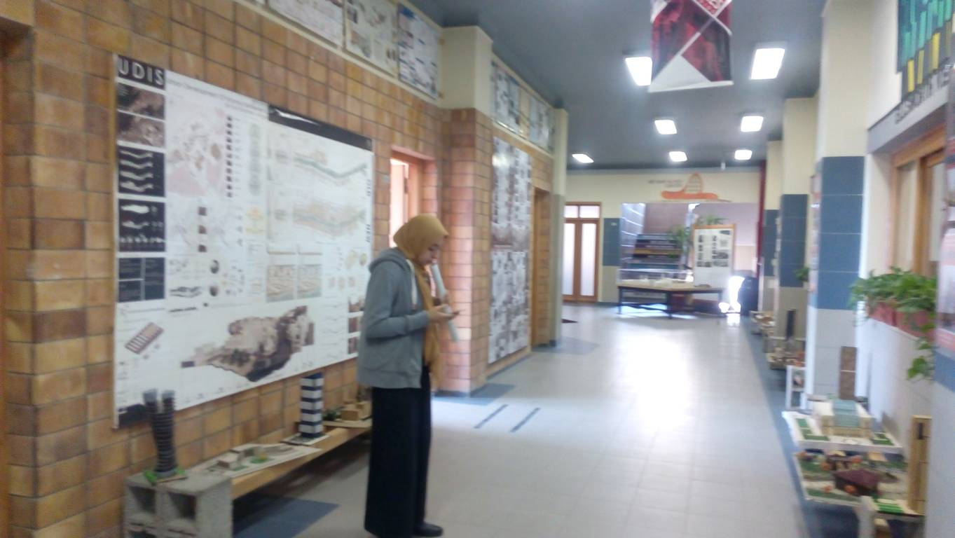 Exhibition of BRAU4 Posters in Pharos, Egypt.
