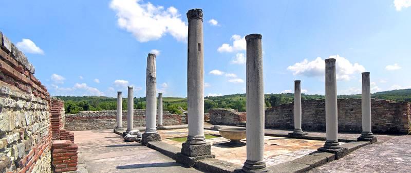 Palace of Galerius, Serbia.